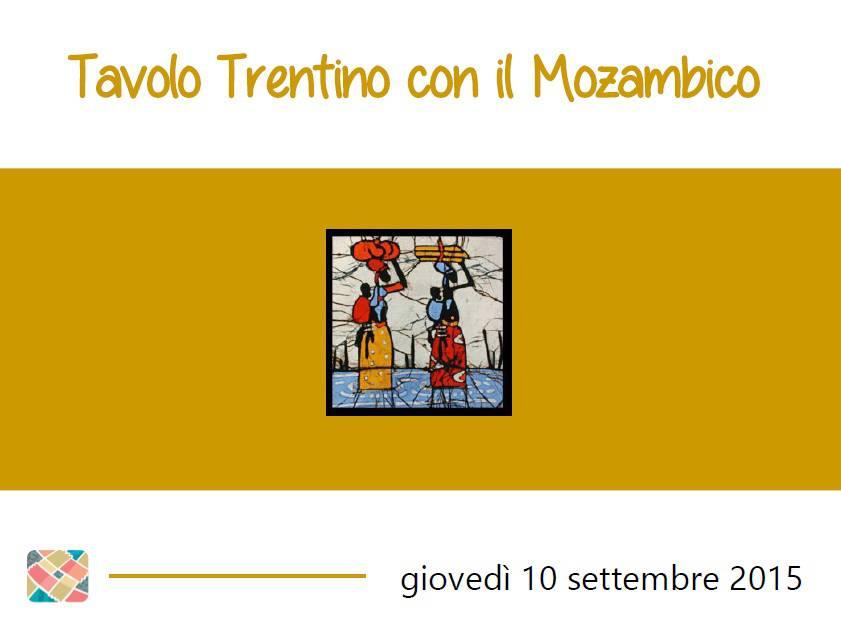 Tavolo Trentino con il Mozambico – la presentazione illustrata durante la serata