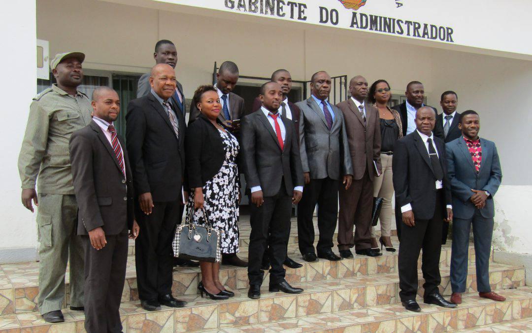 Pianificazione territoriale – un nuovo programma di lavoro con l'Amministrazione del Distretto di Caia