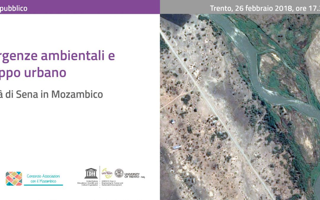 Emergenze ambientali e sviluppo urbano – la città di Sena in Mozambico