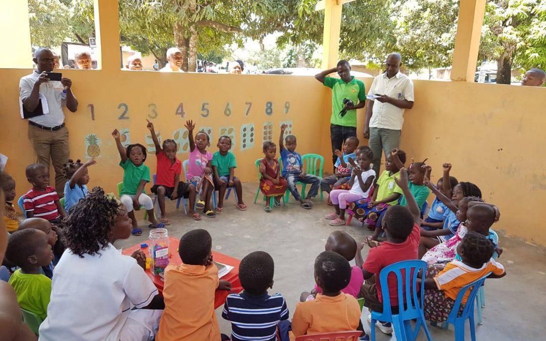 Inaugurato ufficialmente il progetto EducaMoz, per una educazione prescolare di qualità