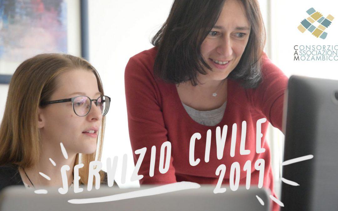 Servizio Civile 2019 : aperte le candidature!