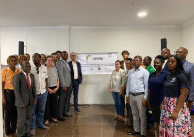 Presentazione del progetto LIMPAMOZ a Beira