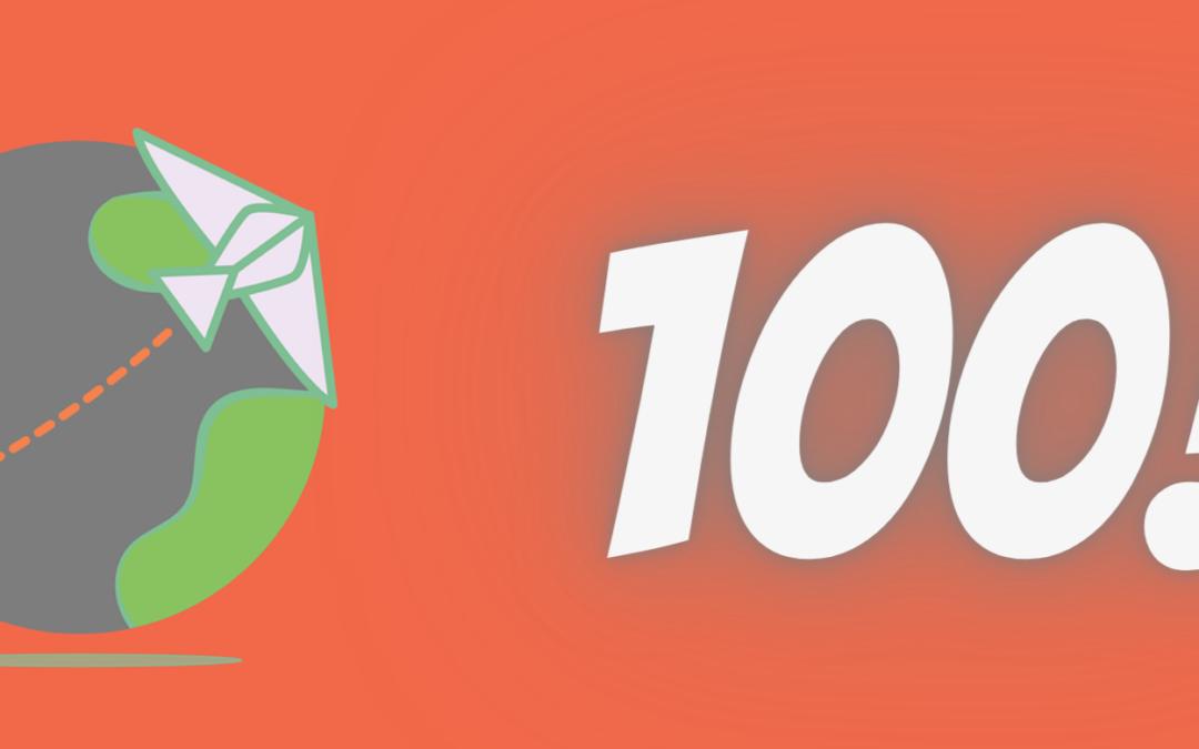 Newsletter 100! Un sondaggio ed un premio ad estrazione