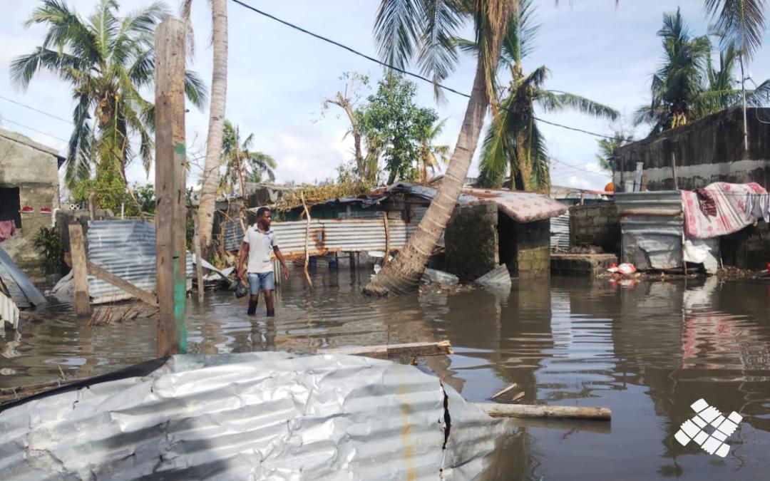 Ciclone Eloise – il CAM all'opera accanto alla comunità di Beira
