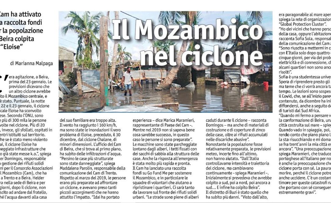 Il Mozambico nel Ciclone
