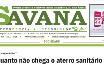 Lavorare con i rifiuti – il settimanale Savana racconta il nostro progetto a Beira